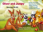 Oliver and Jumpy - the Cat Series, Stories 58-62: Bedtime stories for children in illustrated picture book with short stories for early readers.