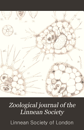 Zoological Journal of the Linnean Society: Volume 29