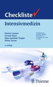 Checkliste Intensivmedizin: Ausgabe 4
