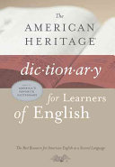The American Heritage Dictionary for Learners of English PDF