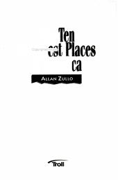The Ten Creepiest Places in America PDF