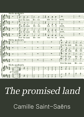 The Promised Land: An Oratorio : Op. 140