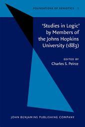 'Studies in Logic' by Members of the Johns Hopkins University (1883)