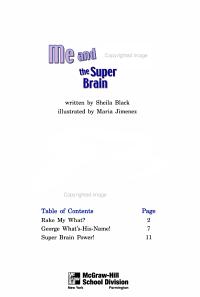 Me and Maya  the super brain PDF