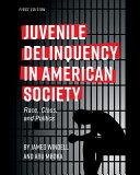 Juvenile Delinquency in American Society PDF