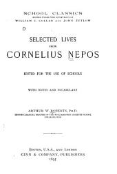 Selected lives from Cornelius Nepos