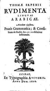 Rudimenta linguae arabicae