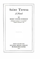Saint Teresa: A Novel