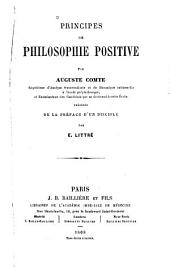 Principes de philosophie positive