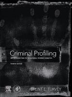 Criminal Profiling PDF