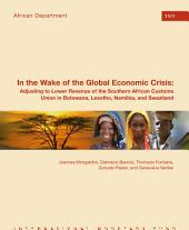 In the Wake of the Global Economic Crisis: Adjusting to Lower Revenue of the Southern African Customs Union in Botswana, Lesotho, Namibia, and Swaziland