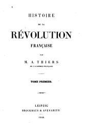 Histoire de la Révolution française: 1