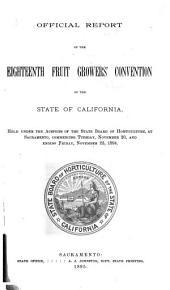 Proceedings: Volumes 18-29