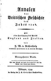 Annalen der brittischen Geschichte des Jahrs 1788 [-1796]: als eine Fortsetzung des Werks England und Italien, Band 19