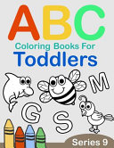 ABC Coloring Books for Toddlers Series 9
