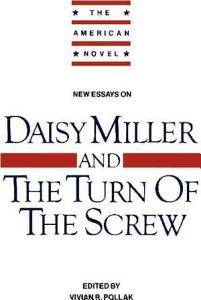 New Essays on  Daisy Miller  and  The Turn of the Screw  PDF