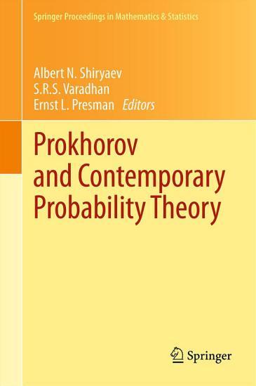 Prokhorov and Contemporary Probability Theory PDF