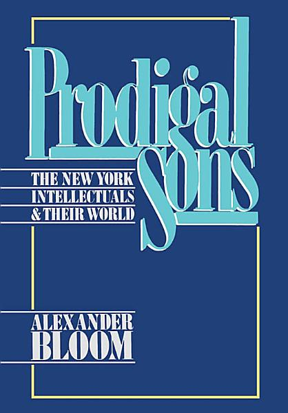 Download Prodigal Sons Book