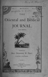 The Oriental and Biblical Journal: Volume 1