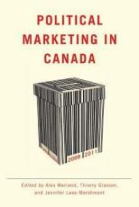 Political Marketing in Canada PDF