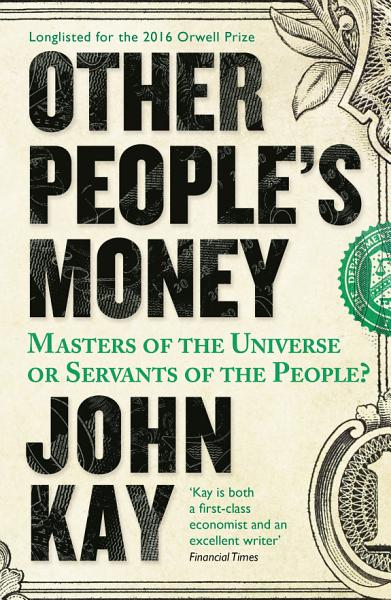 Download Other People s Money Book