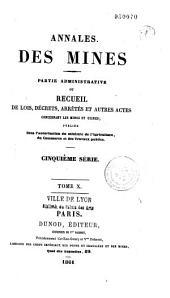 Annales des mines: Réalités industrielles