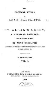 The Poetical Works of Anne Radcliffe: Volume 2