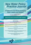 Water Resources Initiatives and Agendas