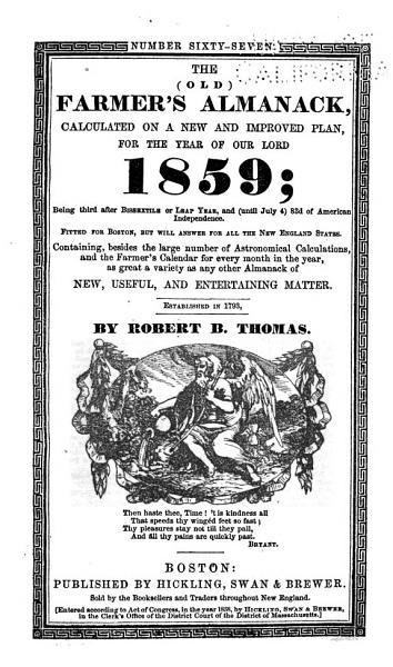 Download The  old  Farmer s Almanack Book