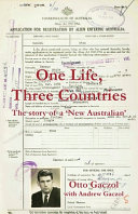 Download One Life  Three Countries Book