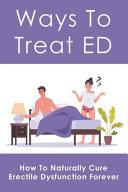 Ways To Treat ED
