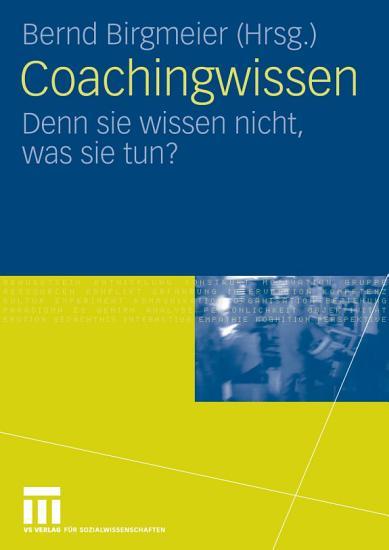 Coachingwissen PDF