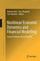 Nonlinear Economic Dynamics and Financial Modelling PDF