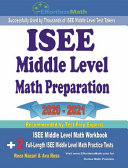 ISEE Middle Level Math Preparation 2020 - 2021