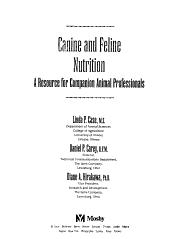 Canine and Feline Nutrition PDF