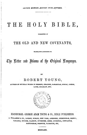 The holy Bible  tr  by R  Young
