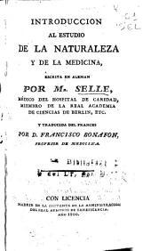 Introduccion al estudio de la naturaleza y de la medicina