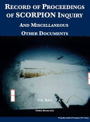Record of Proceedings of SCORPION Inquiry