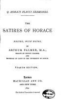 Q  Horati Flacci Sermones PDF