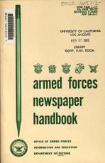 Armed Forces Newspaper Handbook PDF