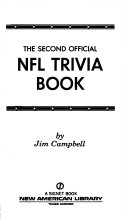 The Second Official NFL Trivia Book
