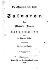 Salvator: Die Mohicaner von Paris. Von Alexander Dumas. Aus dem Französischen von August Zoller [ab 5:] von Edmund Zoller, Band 7