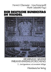 Der Deutsche Bundestag im Wandel PDF
