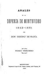 Anales de la defensa de Montevideo: 1842-1851