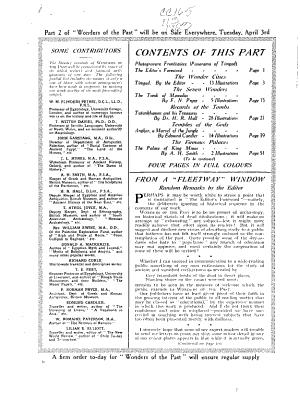 Wonders of the Past PDF