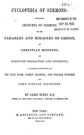 Cyclopedia of Sermons PDF