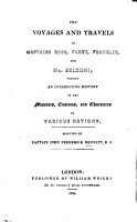 The Voyages and Travels of Captains Ross  Parry  Franklin  and Mr  Belzoni PDF