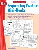 Sequencing Practice Mini books  Grades K 1 Book