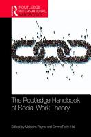 The Routledge Handbook of Social Work Theory PDF