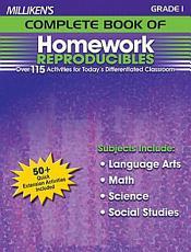 Milliken s Complete Book of Homework Reproducibles   Grade 1 PDF